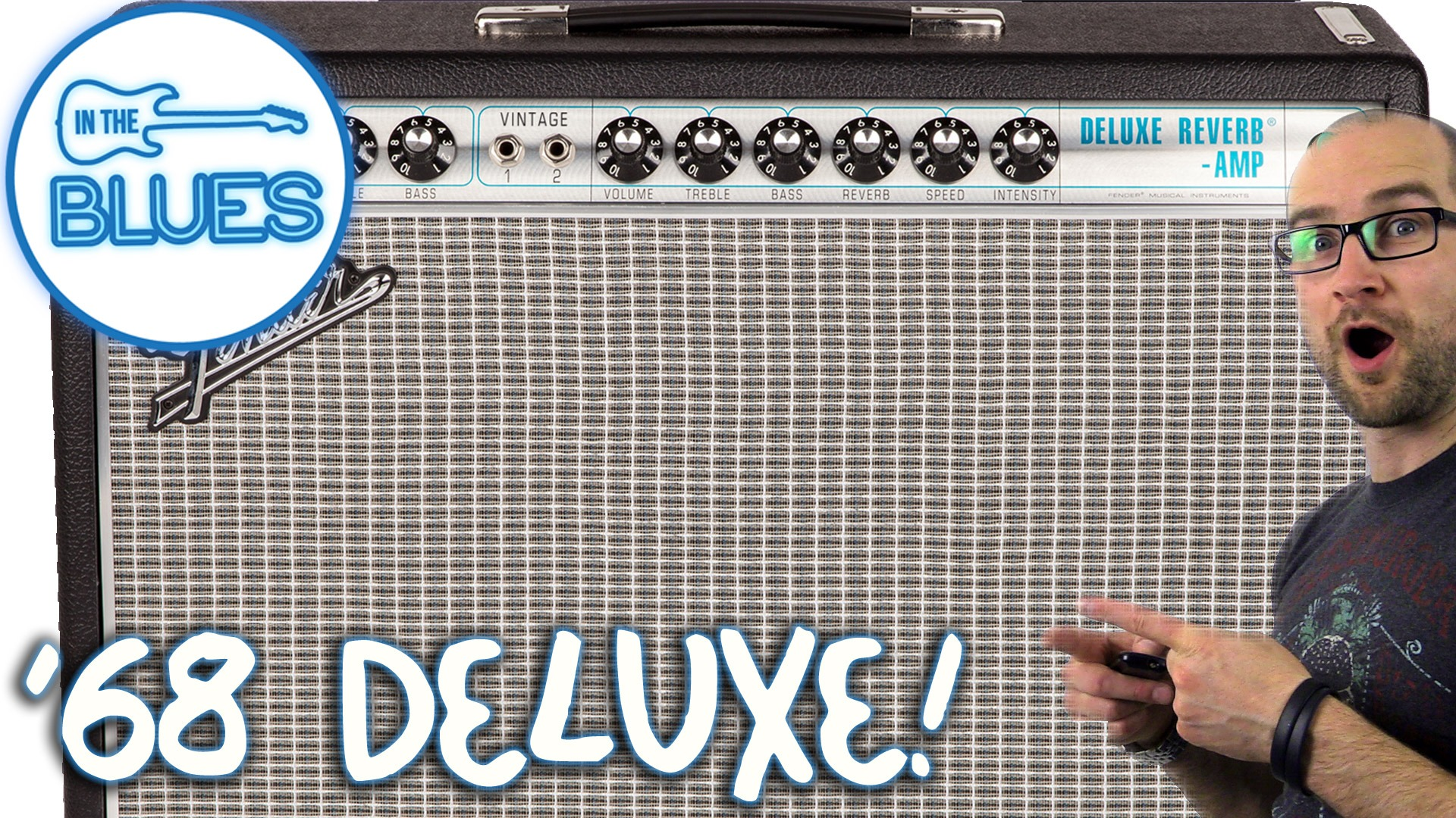 Fender Custom 68 Deluxe Reverb Amplifier Review