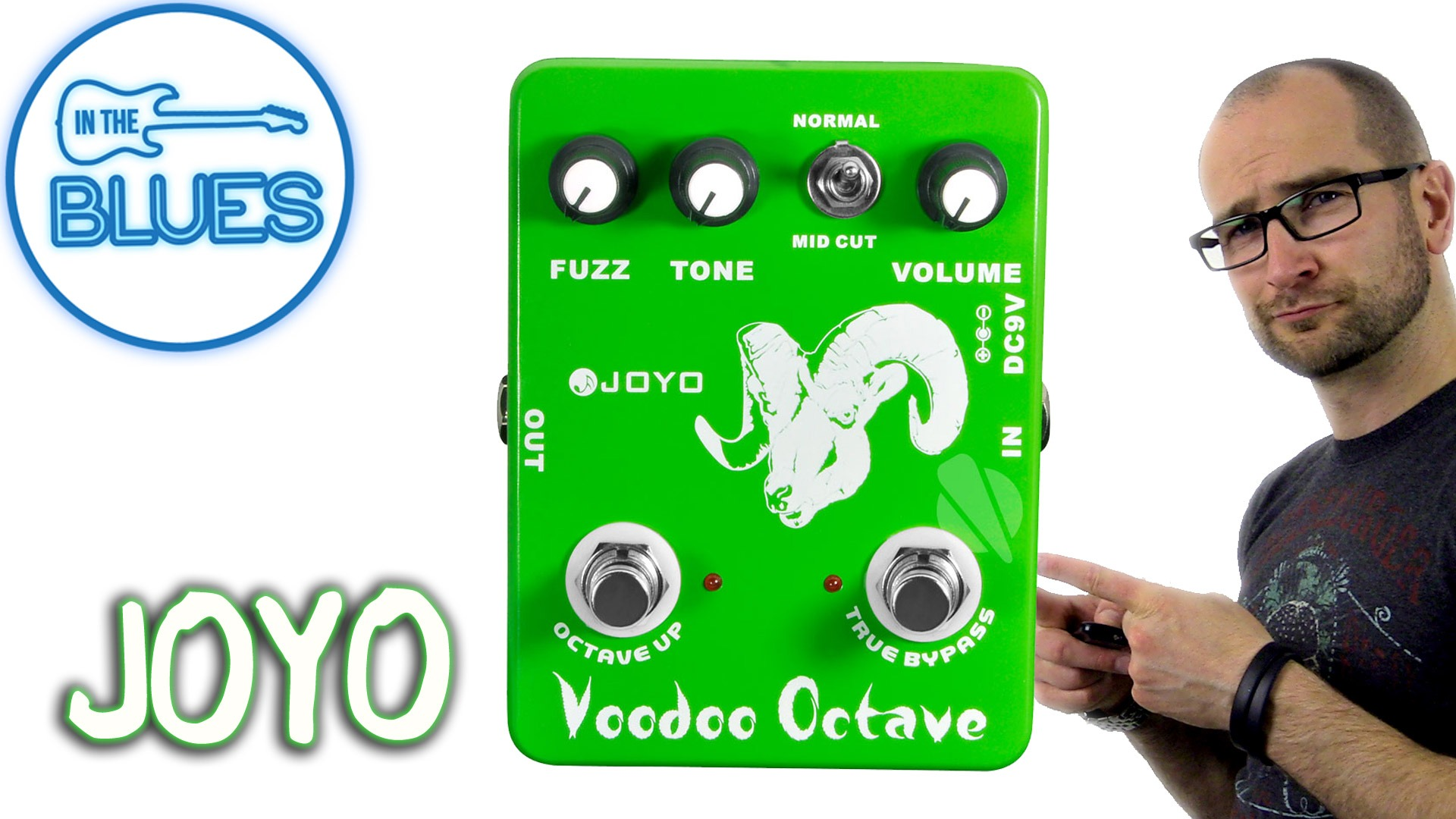 Joyo Voodoo Octave Pedal Review