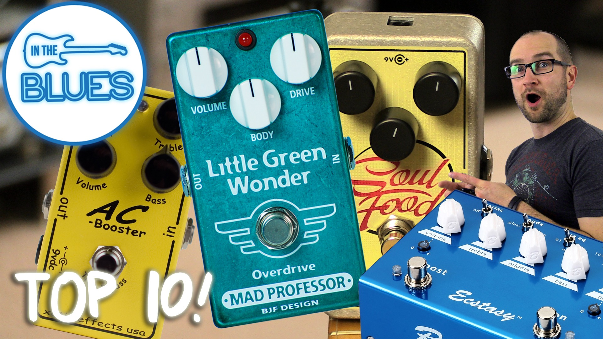 Top 10 Overdrive Pedals of 2014