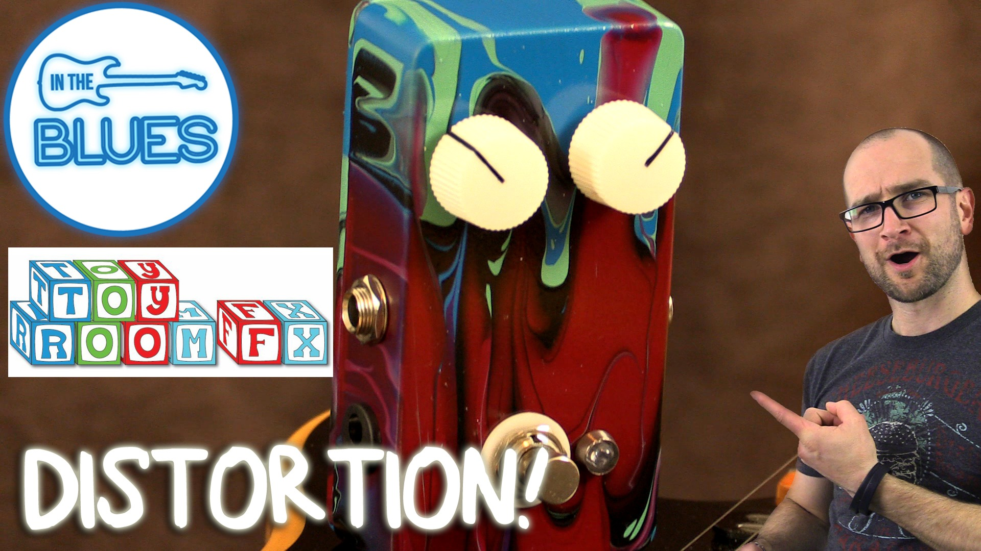 Toyroom Guitar Effects - Norfleet Fuzz/Distortion Pedal Review