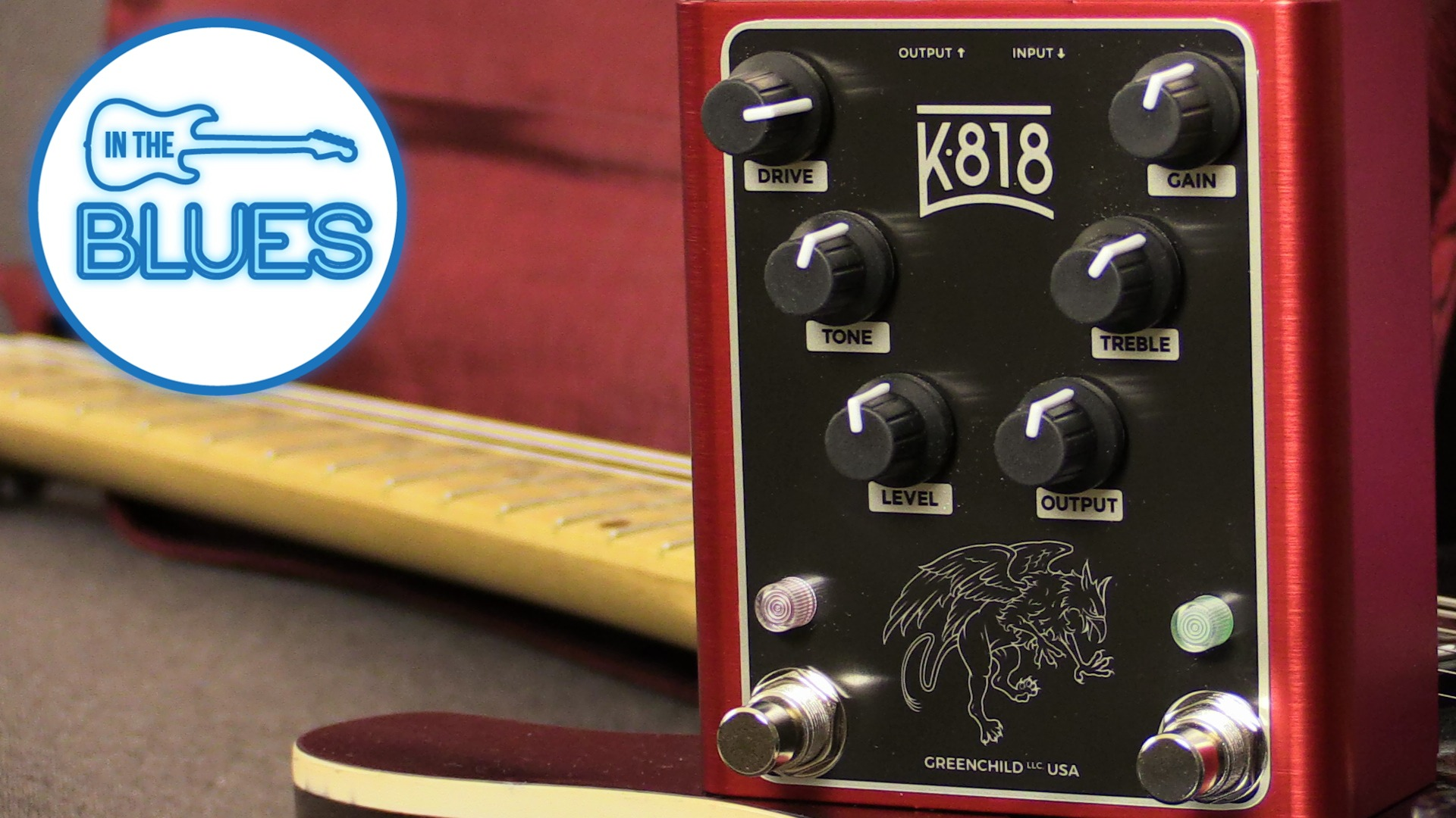 Greenchild K818 Dual Overdrive Pedal