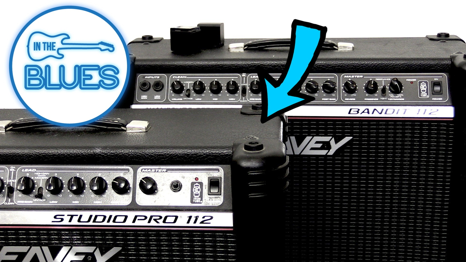 Peavey Bandit 112 vs Peavey Studio Pro 112 (red stripe)