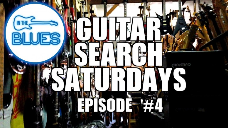 Guitar Search Saturday - Episode 4 (in 4k)