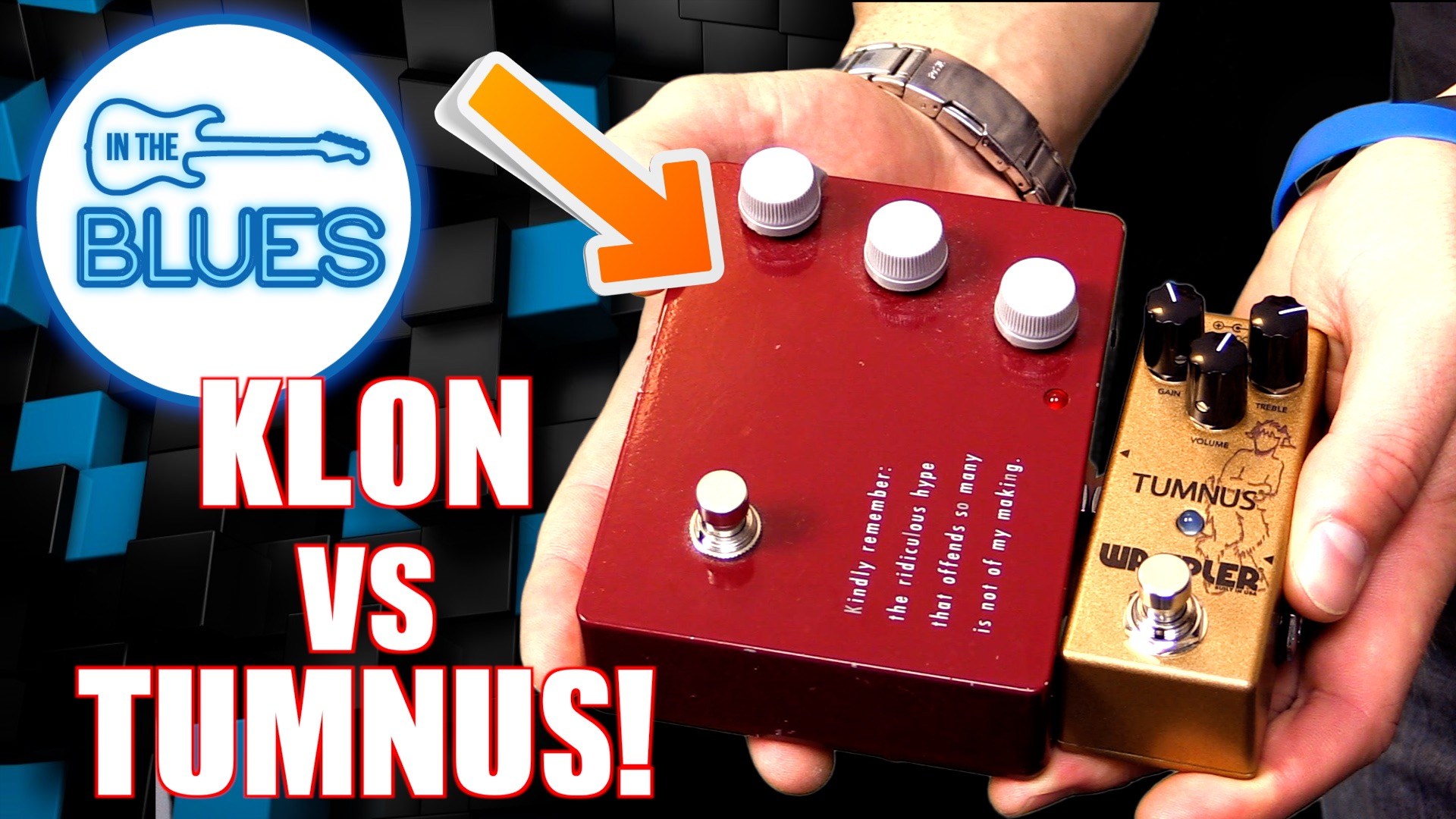 The Klon KTR versus the Wampler Tumnus