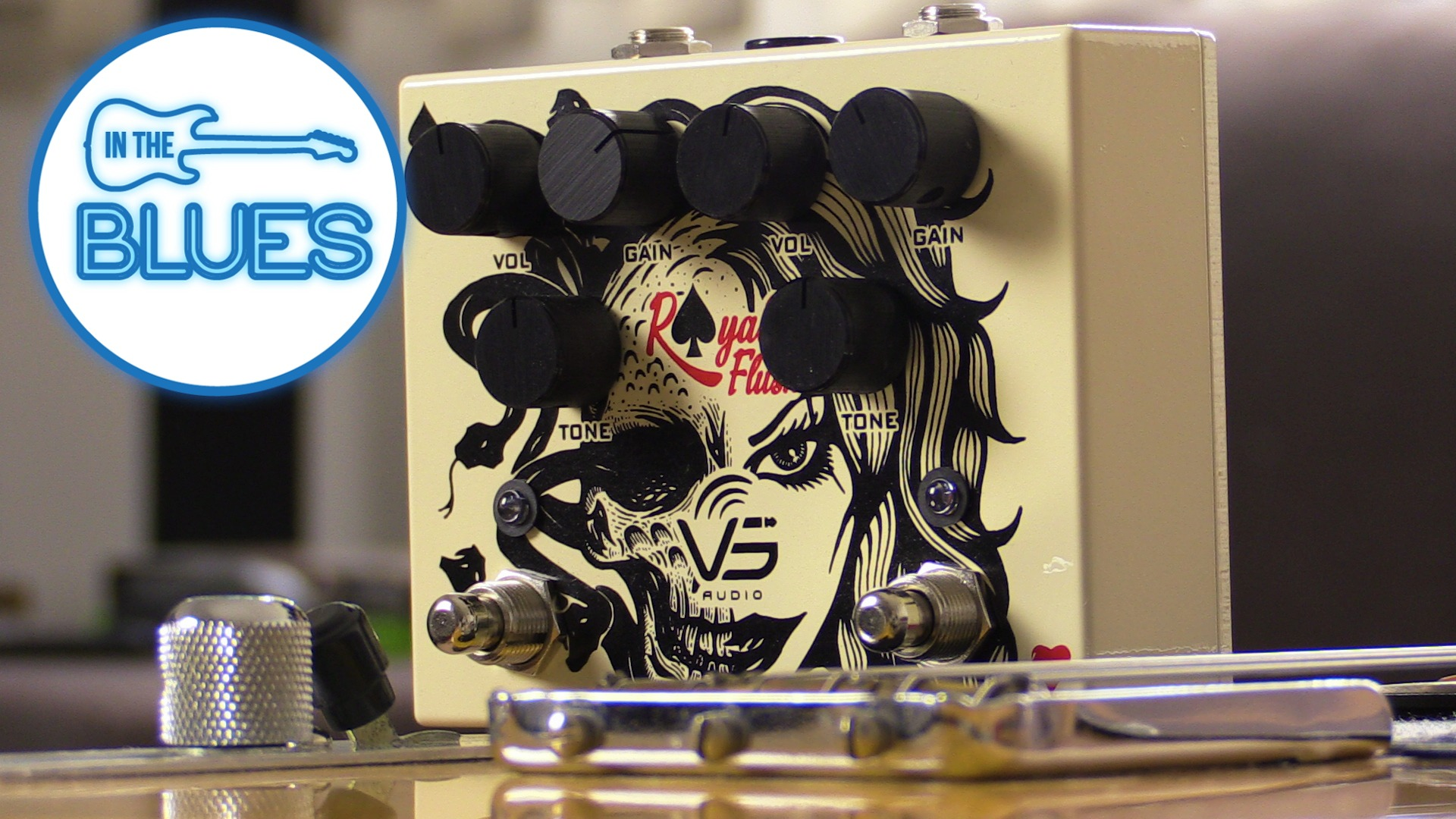 VS Audio Royal Flush Dual Overdrive Pedal Review