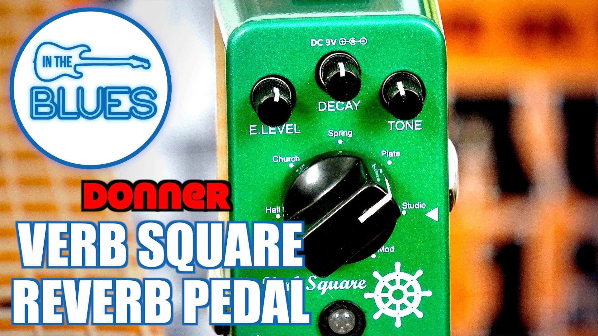 Donner Verb Square Reverb Pedal Review