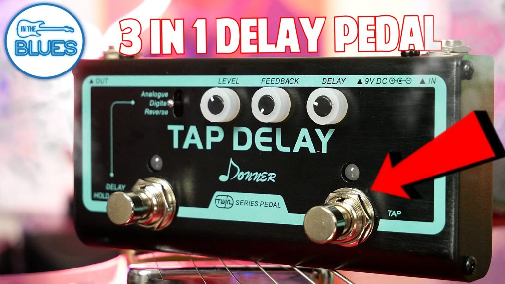 Donner Twin Series Tap Delay Pedal