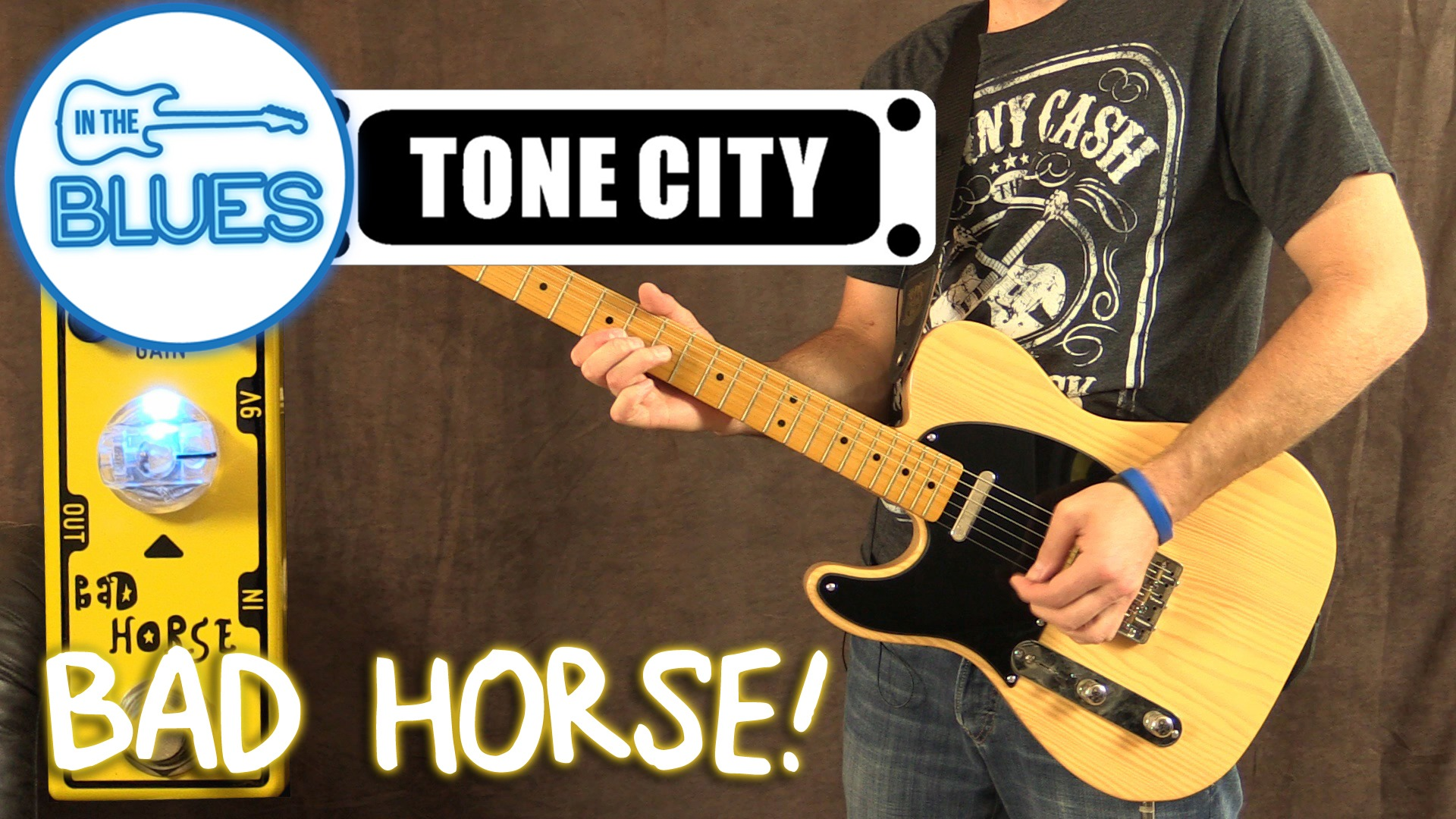 Tone City Bad Horse Overdrive