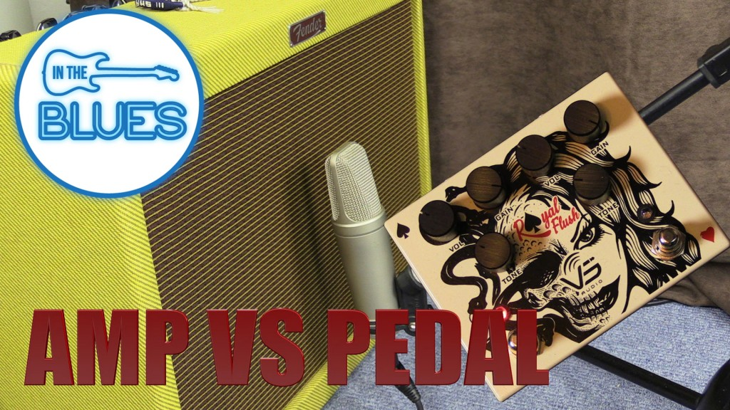 Cranking your amp loud for Tube Distortion or an Overdrive Pedal?