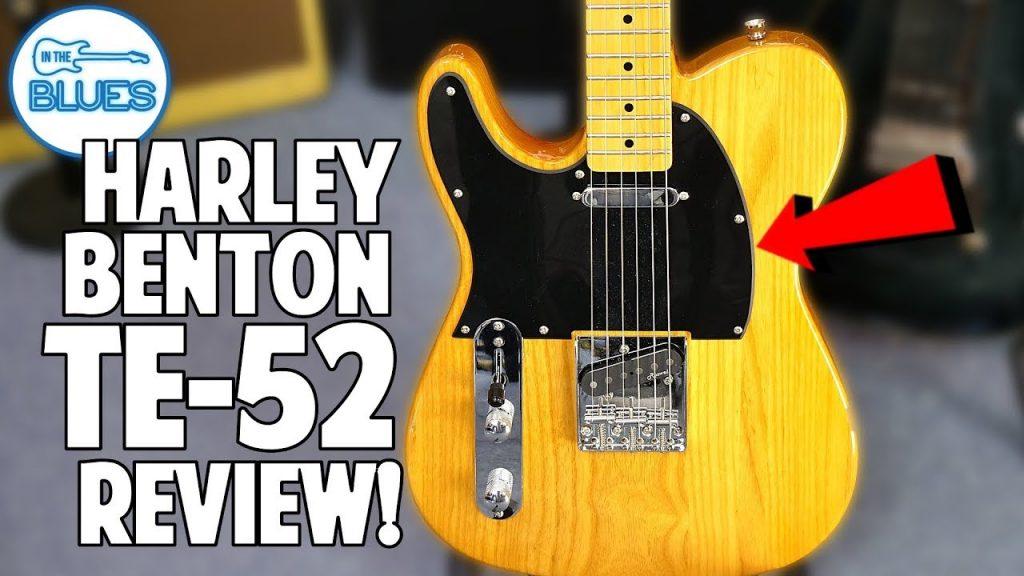 Harley Benton TE-52 Telecaster Guitar Review