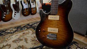 MusicMan Axis Left Handed Guitar