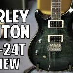 Harley Benton CST-24T Review Black Flame Electric Guitar Review