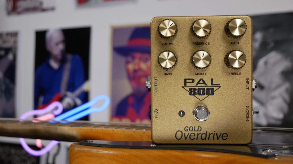 PedalPalFx PAL 800 Gold Overdrive Pedal Review