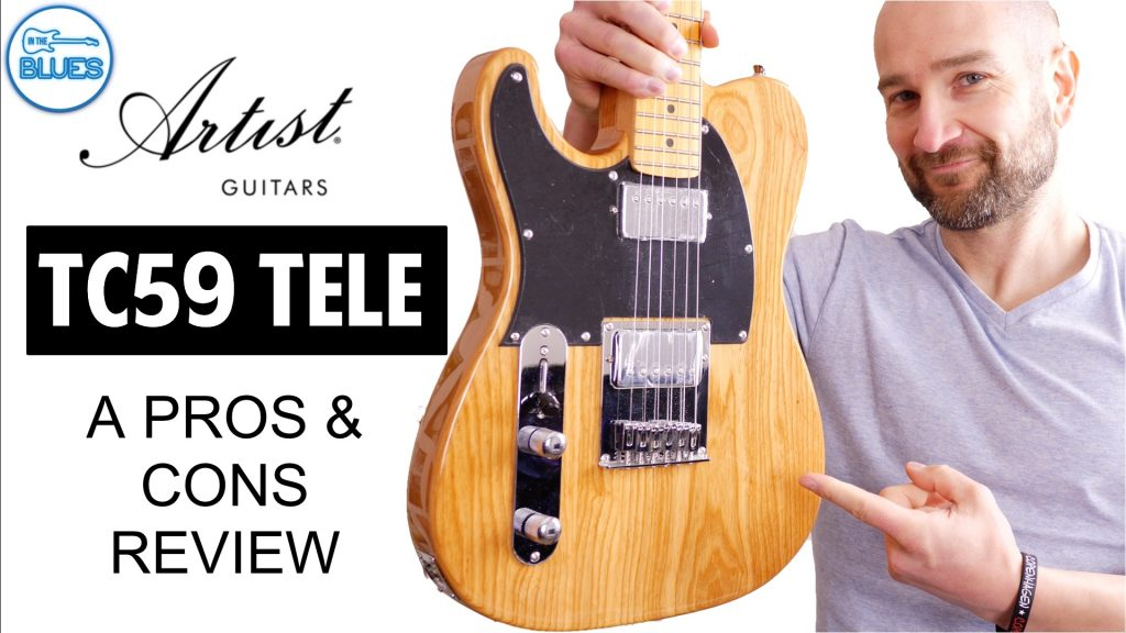 Artist Guitars TC59 Telecaster Review – Worth it?