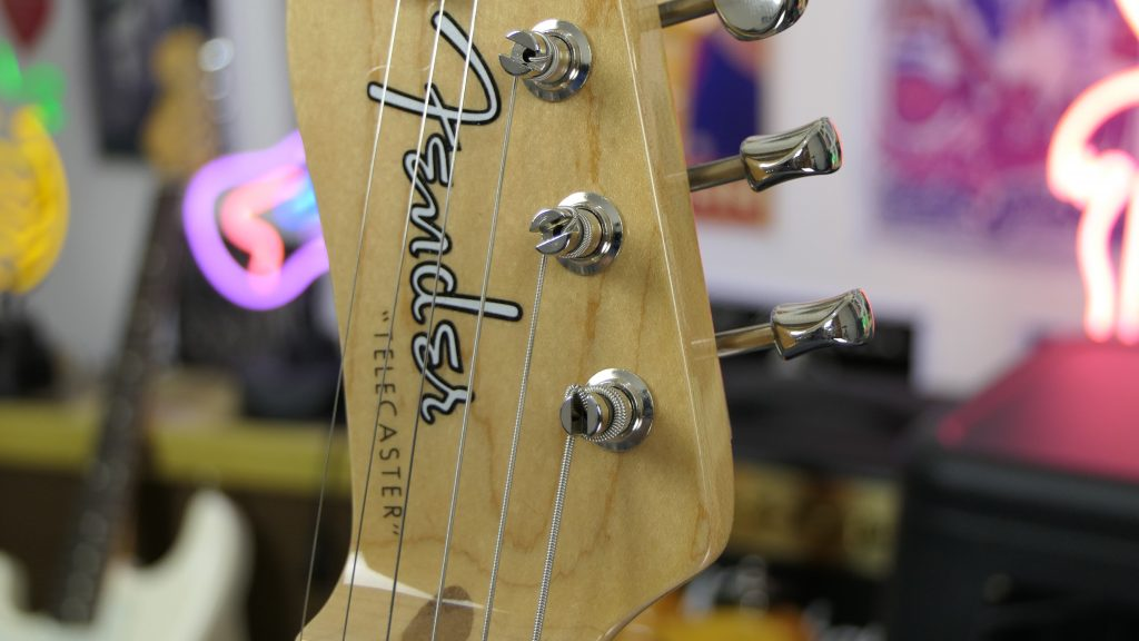 The Vintage Tuners on the Fender 50s Original Series Telecaster