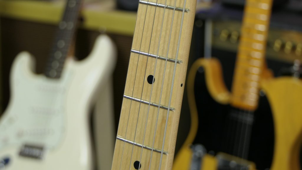 Fender Original Series 50s Telecaster Frets and Neck