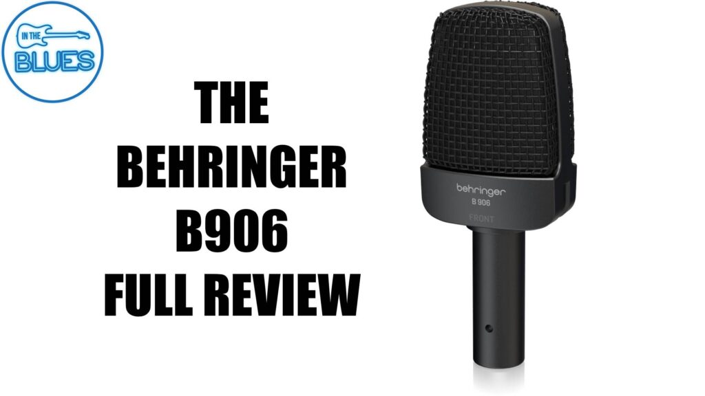 Behringer B 906 Instrument Microphone Review